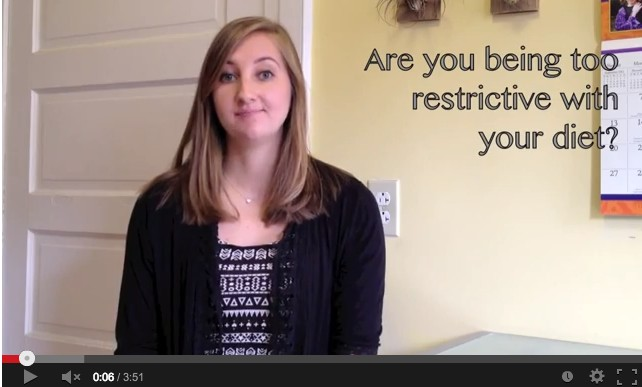 VIDEO: Are you too restrictive with your diet?
